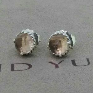 David Yurman Chatelaine Morganite Earrings
